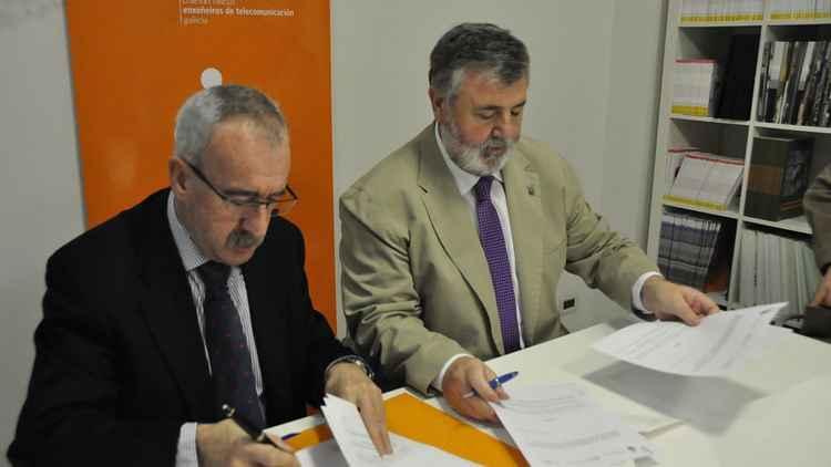 Convenio de colaboración entre el COITG y el Colegio de Médicos de A Coruña